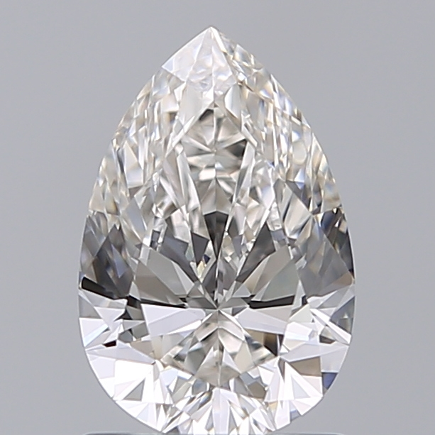 1.03 Carat Pear Loose Diamond, I, VVS2, Super Ideal, GIA Certified | Thumbnail