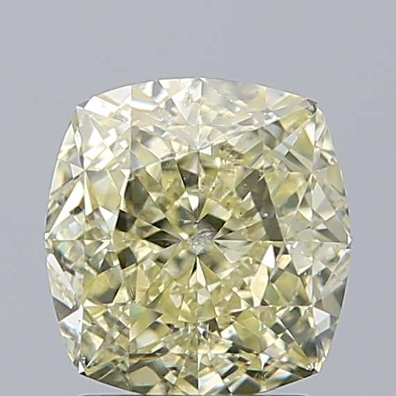 2.17 Carat Cushion Loose Diamond, FANCY, SI2, Ideal, GIA Certified | Thumbnail