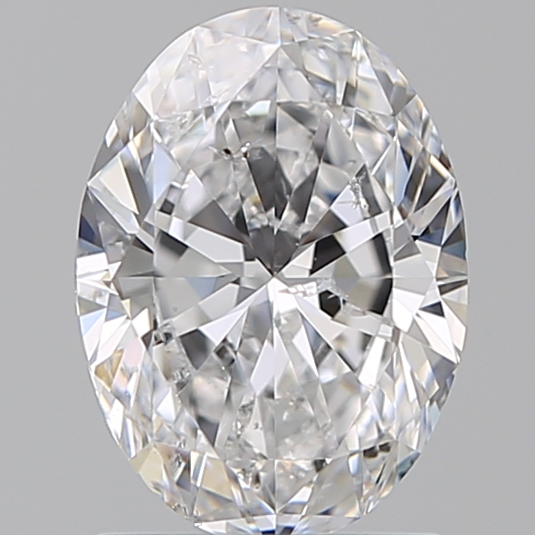 1.30 Carat Oval Loose Diamond, D, SI2, Super Ideal, GIA Certified | Thumbnail