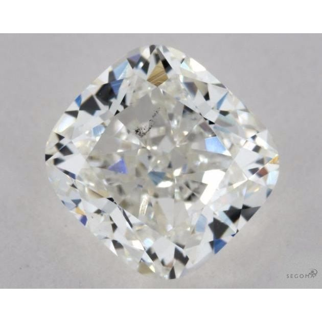 1.34 Carat Cushion Loose Diamond, H, SI1, Excellent, GIA Certified