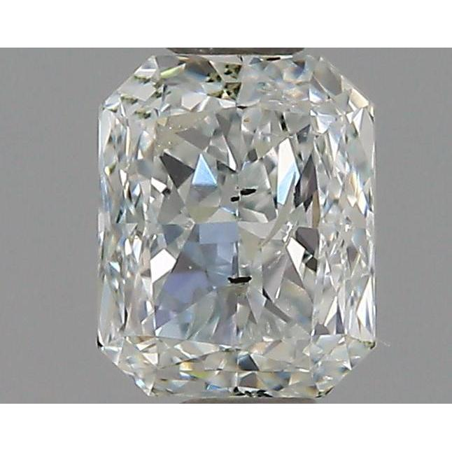 0.38 Carat Radiant Loose Diamond, , I1, Good, GIA Certified