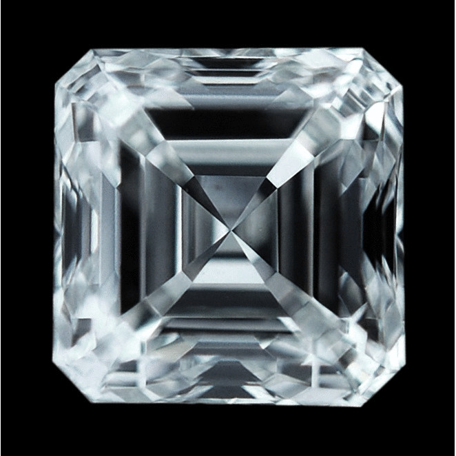 0.90 Carat Asscher Loose Diamond, I, VS2, Ideal, GIA Certified
