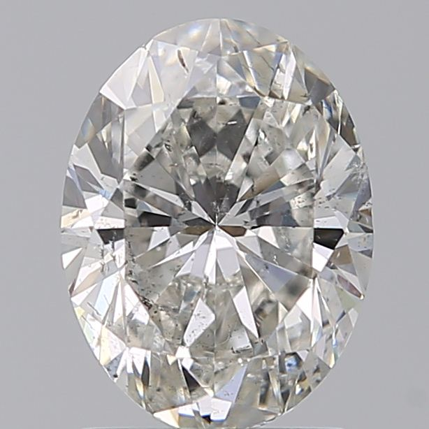 1.50 Carat Oval Loose Diamond, G, SI2, Ideal, GIA Certified