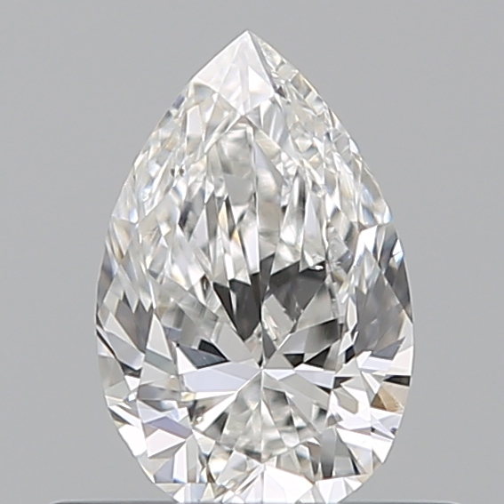 0.39 Carat Pear Loose Diamond, F, SI1, Ideal, GIA Certified