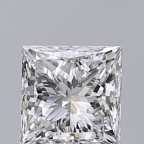 1.20 Carat Princess Loose Diamond, F, SI1, Super Ideal, GIA Certified | Thumbnail