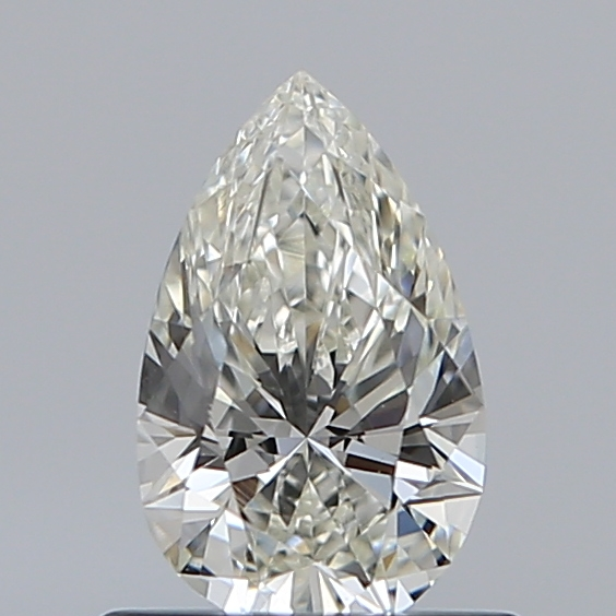 0.59 Carat Pear Loose Diamond, I, VVS2, Ideal, GIA Certified | Thumbnail