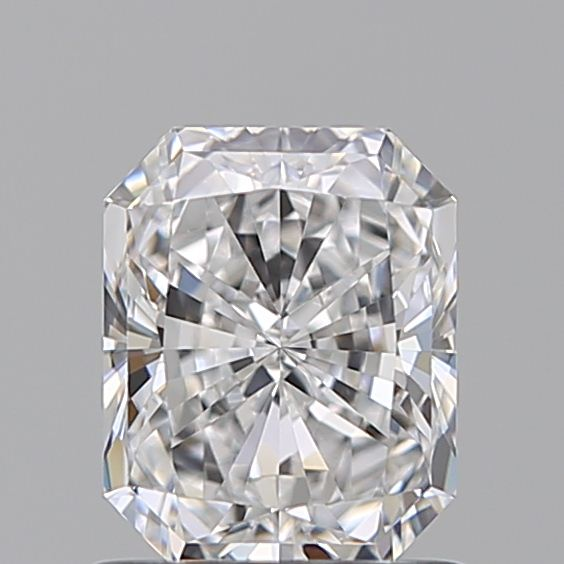 1.00 Carat Radiant Loose Diamond, D, IF, Super Ideal, GIA Certified