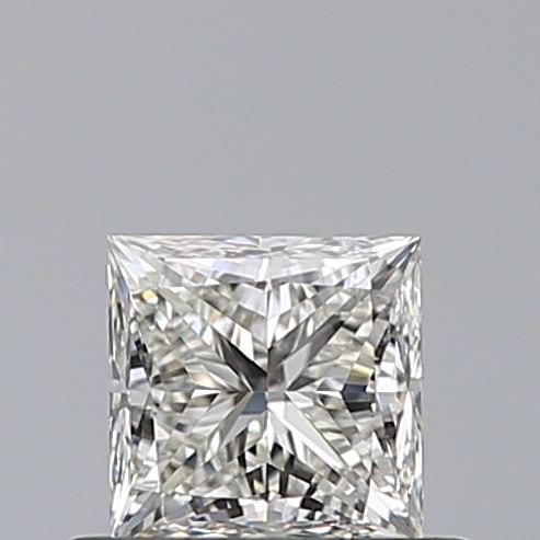 0.53 Carat Princess Loose Diamond, J, VVS1, Super Ideal, GIA Certified
