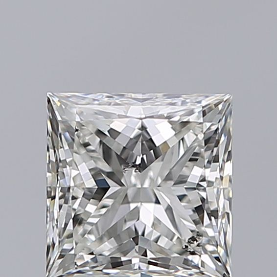 1.00 Carat Princess Loose Diamond, H, SI2, Super Ideal, GIA Certified | Thumbnail