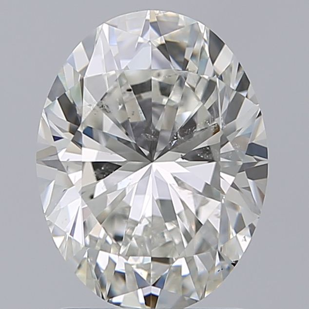1.70 Carat Oval Loose Diamond, I, SI2, Excellent, GIA Certified