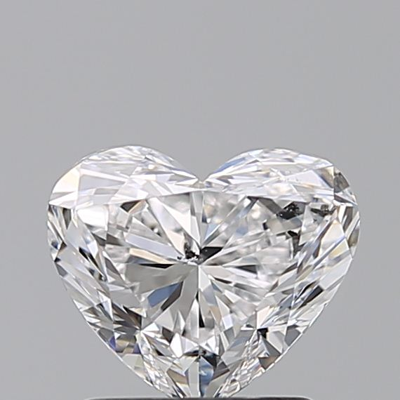 1.20 Carat Heart Loose Diamond, D, SI2, Ideal, GIA Certified