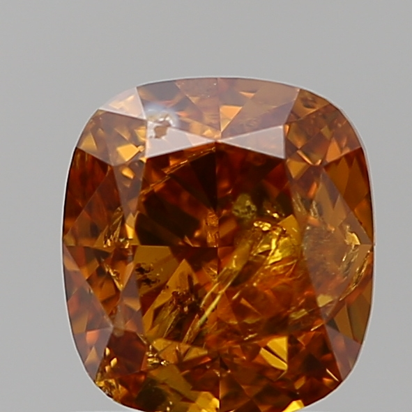 1.00 Carat Cushion Loose Diamond, FANCY, I3, Ideal, GIA Certified
