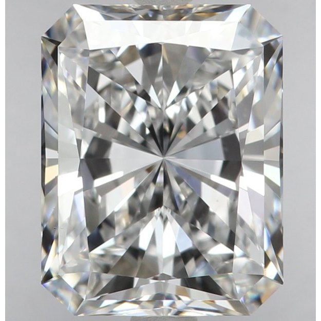 2.50 Carat Radiant Loose Diamond, E, VS2, Super Ideal, GIA Certified