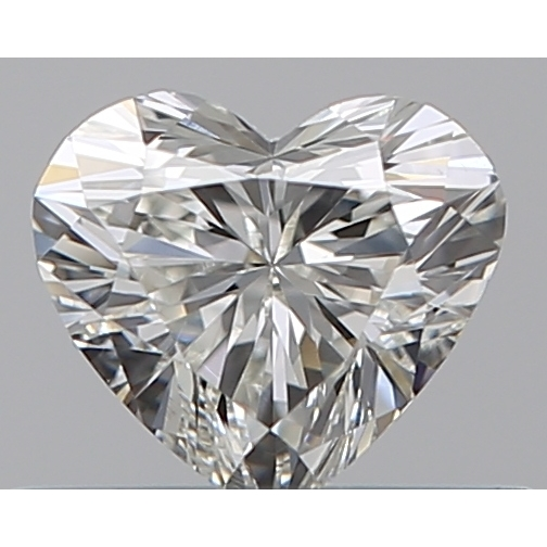 0.33 Carat Heart Loose Diamond, I, VS2, Ideal, GIA Certified | Thumbnail