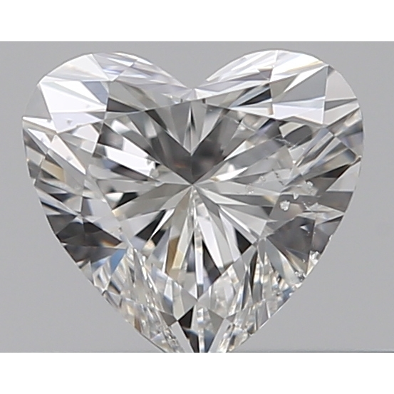 0.30 Carat Heart Loose Diamond, F, SI2, Excellent, GIA Certified