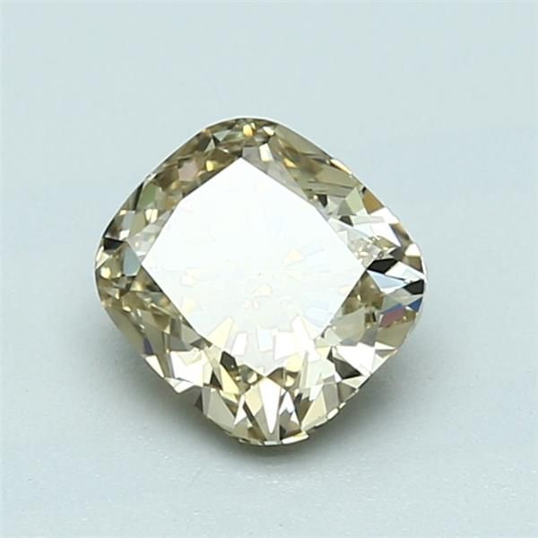 1.01 Carat Cushion Loose Diamond, FBY FBY, SI1, Ideal, GIA Certified