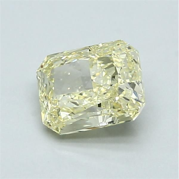 1.01 Carat Radiant Loose Diamond, FY FY, SI1, Excellent, GIA Certified
