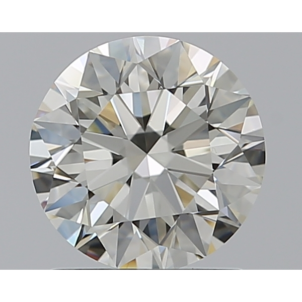 1.10 Carat Round Loose Diamond, L, IF, Super Ideal, GIA Certified