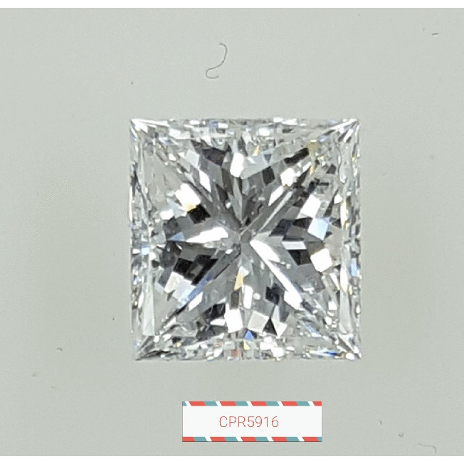 3.02 Carat Princess Loose Diamond, F, VS2, Excellent, GIA Certified