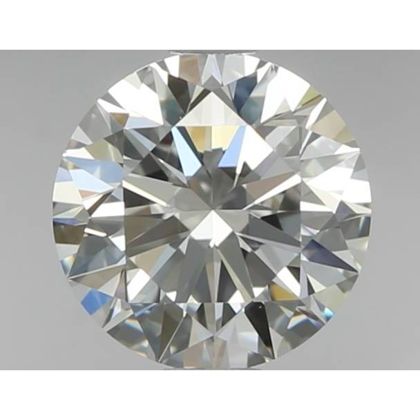 0.70 Carat Round Loose Diamond, F, IF, Super Ideal, GIA Certified