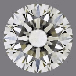 1.50 Carat Round Loose Diamond, H, VS2, Super Ideal, GIA Certified