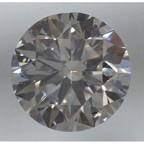 0.70 Carat Round Loose Diamond, H, VS1, Ideal, GIA Certified | Thumbnail