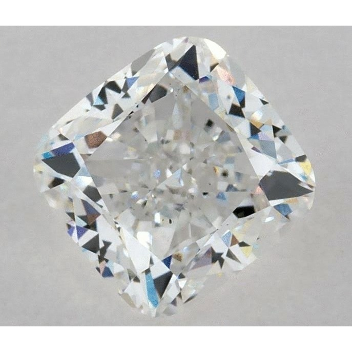 1.50 Carat Cushion Loose Diamond, F, VS2, Excellent, GIA Certified