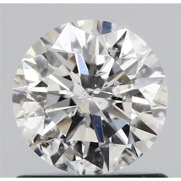 0.72 Carat Round Loose Diamond, G, I1, Ideal, GIA Certified