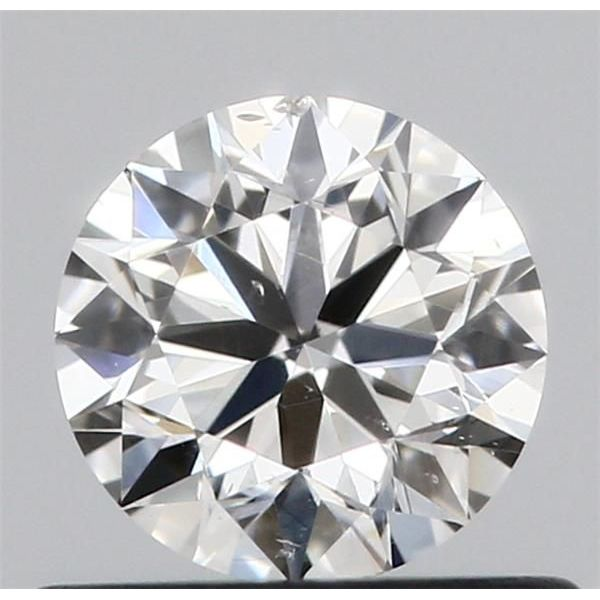 0.50 Carat Round Loose Diamond, G, SI1, Ideal, GIA Certified