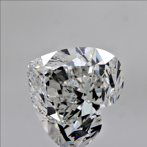 0.70 Carat Heart Loose Diamond, H, IF, Ideal, GIA Certified