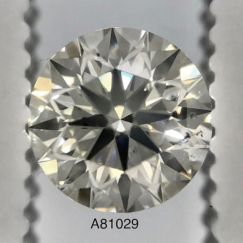 1.02 Carat Round Loose Diamond, I, SI1, Ideal, GIA Certified
