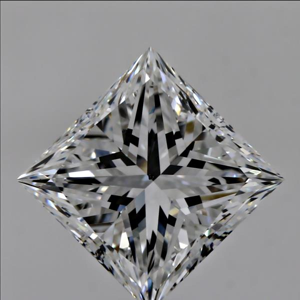 2.01 Carat Princess Loose Diamond, E, VS2, Excellent, GIA Certified