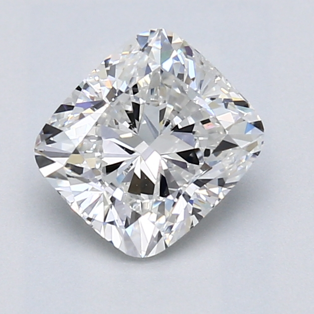 1.50 Carat Cushion Loose Diamond, F, VS1, Excellent, GIA Certified