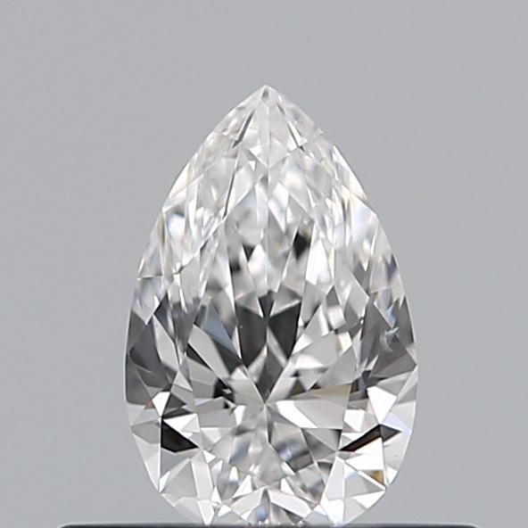 0.30 Carat Pear Loose Diamond, D, VS2, Super Ideal, GIA Certified