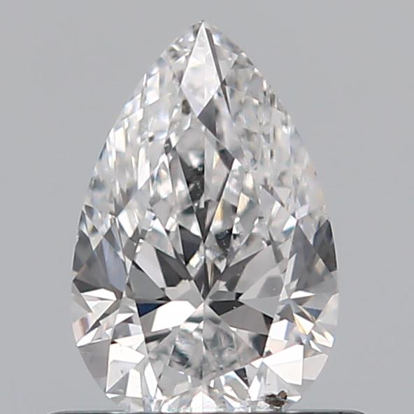 0.52 Carat Pear Loose Diamond, D, SI2, Ideal, GIA Certified