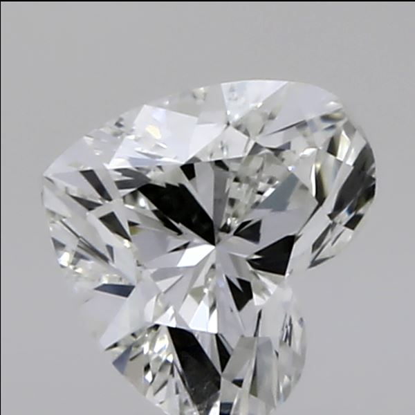 0.30 Carat Heart Loose Diamond, I, VVS1, Ideal, GIA Certified