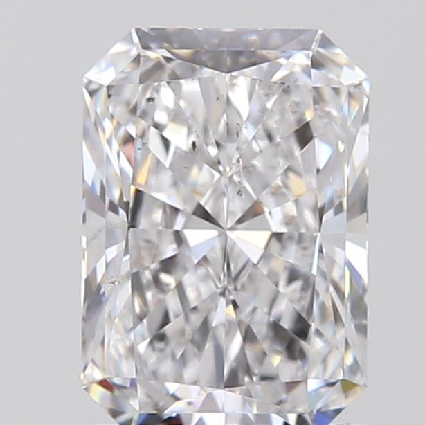 0.90 Carat Radiant Loose Diamond, D, SI1, Super Ideal, GIA Certified