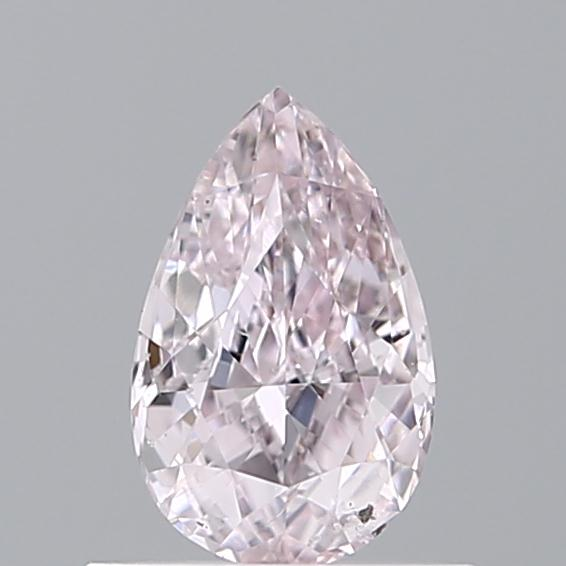 0.50 Carat Pear Loose Diamond, FANCY, SI2, Ideal, GIA Certified