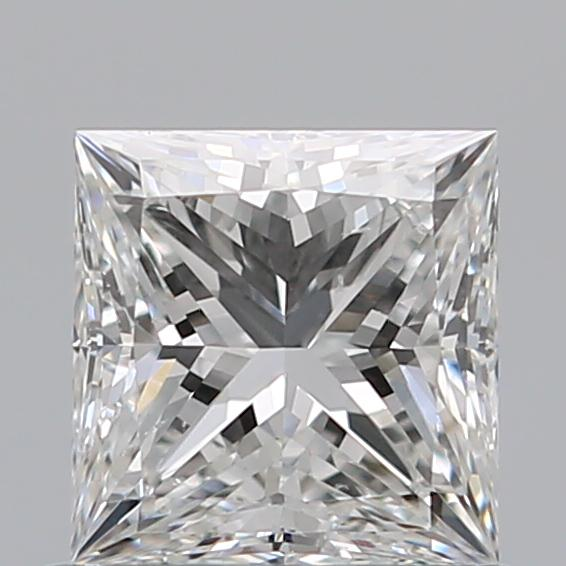 0.73 Carat Princess Loose Diamond, F, SI1, Ideal, GIA Certified