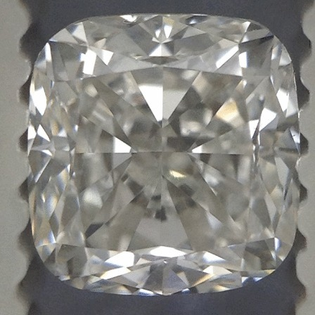 1.01 Carat Cushion Loose Diamond, H, VS1, Very Good, GIA Certified