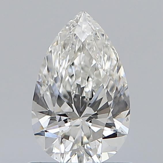 0.70 Carat Pear Loose Diamond, H, SI1, Ideal, GIA Certified | Thumbnail