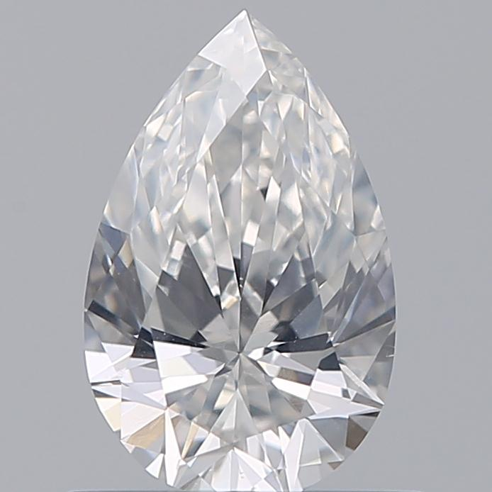 0.56 Carat Pear Loose Diamond, F, SI1, Super Ideal, GIA Certified