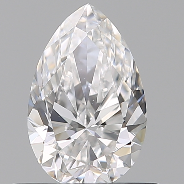 0.51 Carat Pear Loose Diamond, D, VS2, Super Ideal, GIA Certified