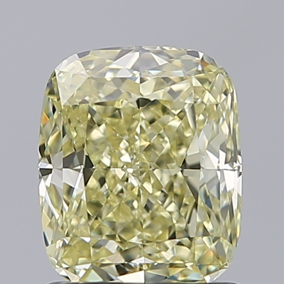 1.27 Carat Cushion Loose Diamond, Y-Z, VVS1, Super Ideal, GIA Certified