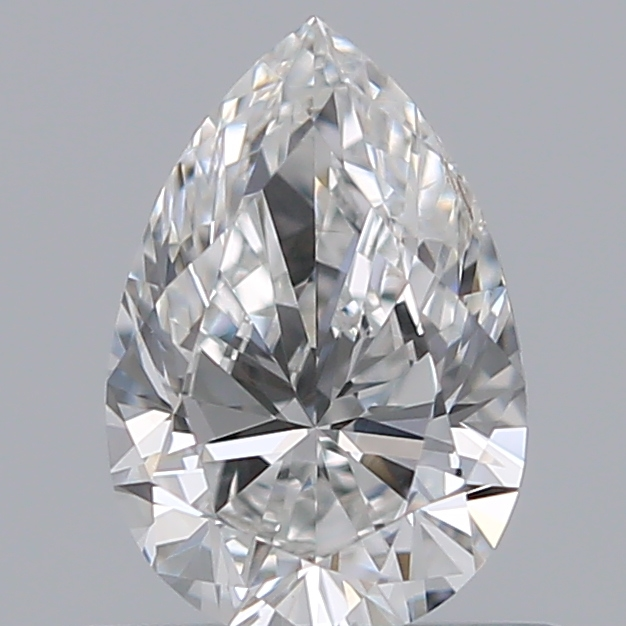 0.50 Carat Pear Loose Diamond, F, SI1, Super Ideal, GIA Certified | Thumbnail