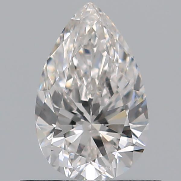 0.50 Carat Pear Loose Diamond, G, VS1, Super Ideal, GIA Certified