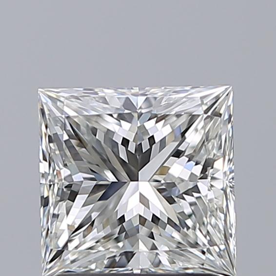 1.50 Carat Princess Loose Diamond, G, VVS2, Super Ideal, GIA Certified