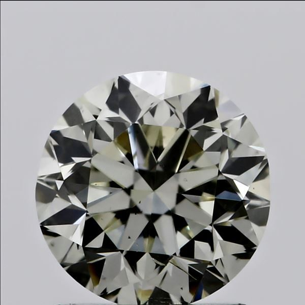 0.51 Carat Round Loose Diamond, N, SI1, Very Good, GIA Certified