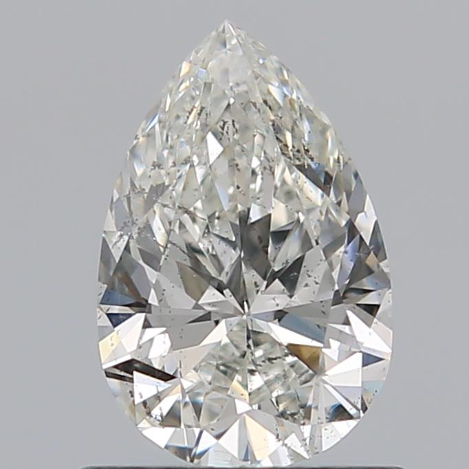 0.72 Carat Pear Loose Diamond, H, SI2, Super Ideal, GIA Certified