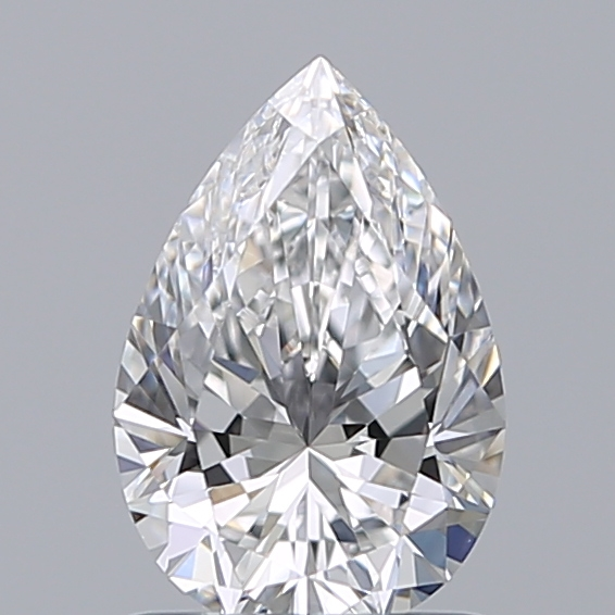 1.02 Carat Pear Loose Diamond, D, IF, Super Ideal, GIA Certified | Thumbnail